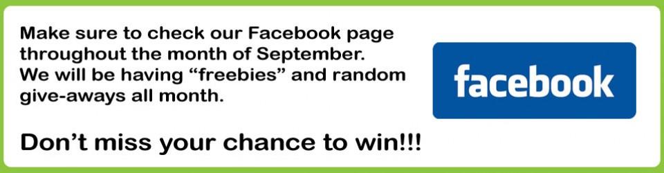Facebook promo Sept 2014
